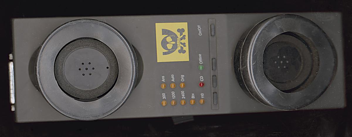 Postzugelassener Akkustik-Koppler