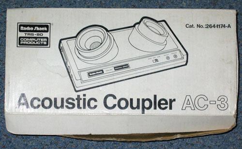 TRS-80 Acoustic Coupler